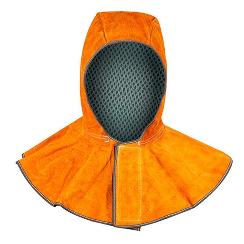Energisch Hohe Qualität Elektrische Schweißen Schürze Leder Haube Anti-dressing Leder Schweißer Haube Leder Schal Kappe Shirt Sicherheit Helm Sicherheit & Schutz
