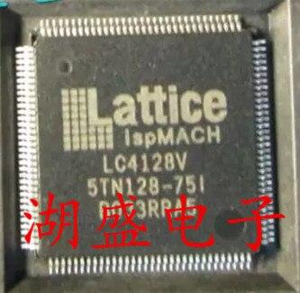 5PCS LC4128V-5TN128-75I   QFP  NEW