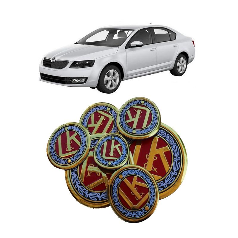1*pcs Universal insigne auto voiture badge logo métal fonte noir brillant 1a*q