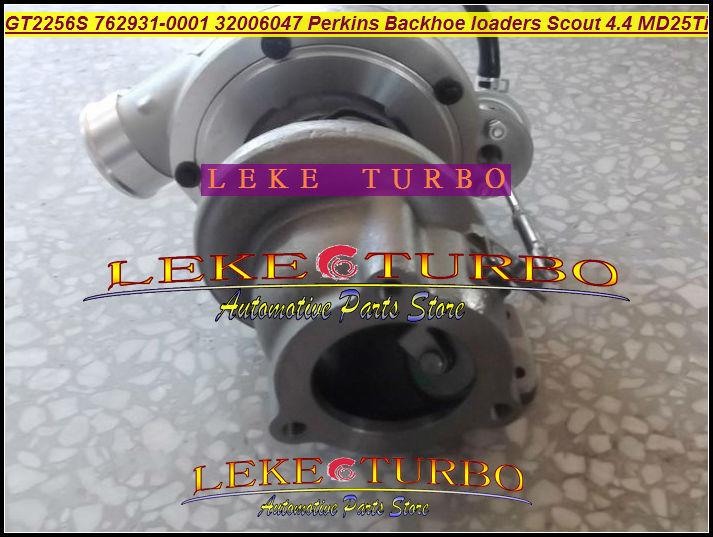 Bateau libre GT2256S 762931-0001 762931 32006047 Turbo turbocompresseur Pour Perkin-s tractopelles Scout 4.4 1996-Moteur MD25Ti D