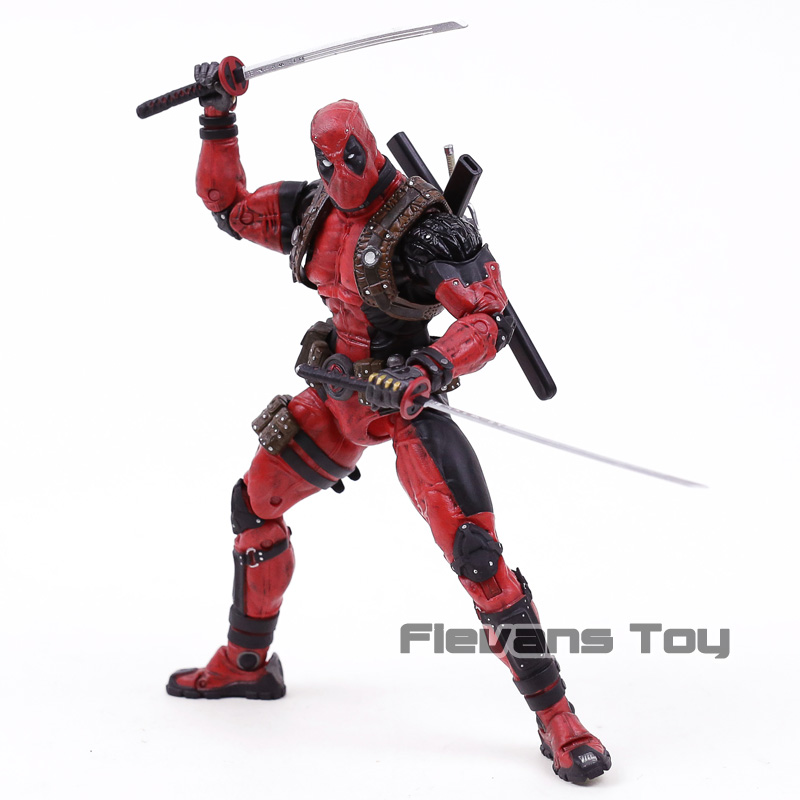 NECA Deadpool Ultimate 8 Action Figure 1 10 Scale Collector Epic Marvel Doll Toy