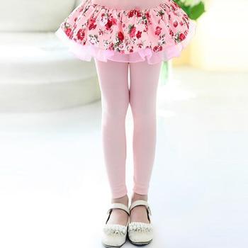 Girls Floral Printed Leggings 1