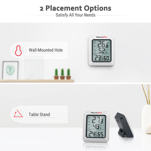 Image 4 - ThermoPro TP60S 60M Draadloze Digitale Kamer Thermometer Indoor Outdoor Thermometer Vochtigheid Monitor Weerstation