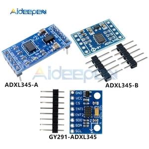 DC 3 V-5 V GY-291 ADXL345 цифровой трехосевой датчик ускорения гравитационного наклона платы Поддержка IIC SPI для Arduino Замена ADXL335