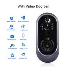 Дверной звонок с камерой Смарт Wifi дверной звонок кольцо 720P домофон ИК сигнализация беспроводная камера безопасности Deurbel вызов видео глаза