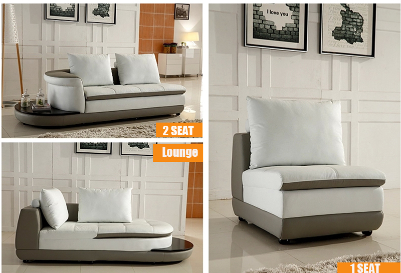 Awesome Us 2200 0 3 Seat Lounge 1 Seat Lot White Leather Sofa Furniture For Living Room Ce A300 In Living Room Sofas From Furniture On Aliexpress Ibusinesslaw Wood Chair Design Ideas Ibusinesslaworg