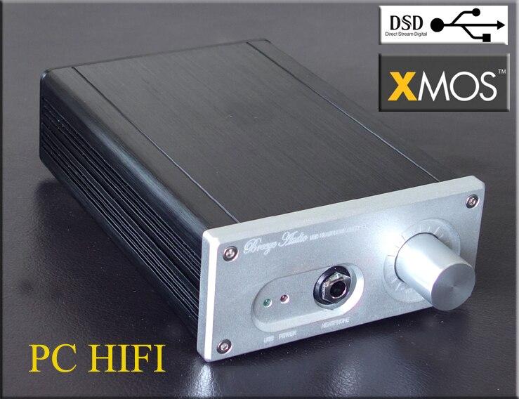 breeze audio XOMS U8 high-end class A headphone ES9018K2M + XOMS DAC USB input support 192K 24BIT DSD