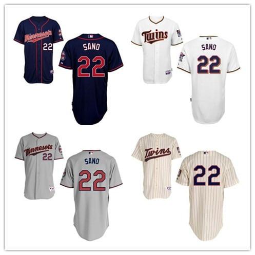 innovative design 34a64 98956 2015 minnesota twins jersey shirt Embroidery 22 Miguel Sano ...
