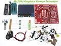 O envio gratuito de atacado DIY planta M12864 gráficos Transistor Versão kit testador ESR LCR PWM