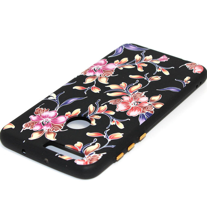 3D Relief flower silicone case huawei honor 8 (26)