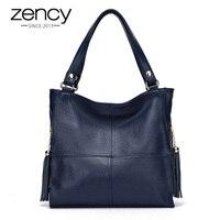 Most Popular Tassel Fashion Designer Genuine Leather Women Messenger Bag Luxury Ladies Tote Shoulder Handbag Bolsas
