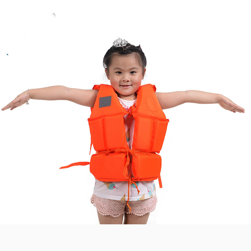 Foam Children's Life Jacket Whistle Swim Suit Inflatable Marine Fishing  Summer   Kids Jackets Children  Security