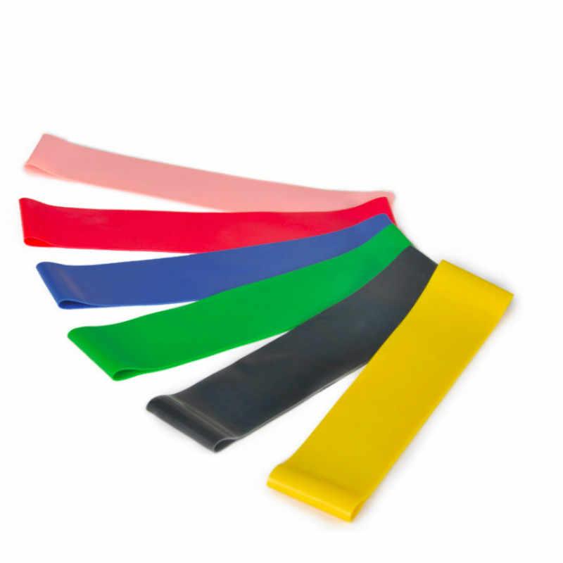 Joga odporność zespoły gumki recepturki sprzęt do fitnessu gumy lateksowej trening siłownia trening siłowy sportowe opaski gumowe