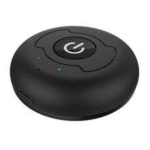 Bluetooth Stereo Transmitter, Wireless Bluetooth TV Audio Transmitter Support Two Bluetooth Headphones or Speaker Simultaneous