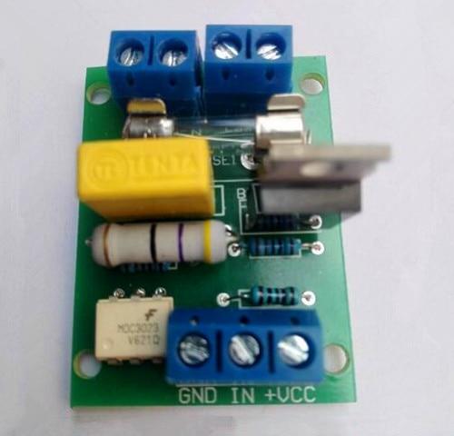 Free Shipping!!! SCM Thyristor Module / Thyristor Control Board Trigger Switch / DC Control / AC 220V Optocoupler Isolation
