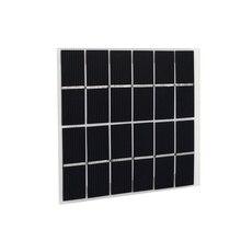 Cewaal 2 W 6 V Panel Solar reutilizable células solares monocristalina etfe módulo de silicio carga de la batería 120*110mm