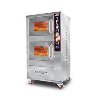 Comercial de Batata Doce Batata Assar Máquina Full-automatic/Taro/Milho Fogão de Cozimento do Forno de Cozimento Elétrico Vertical ZB-KS188