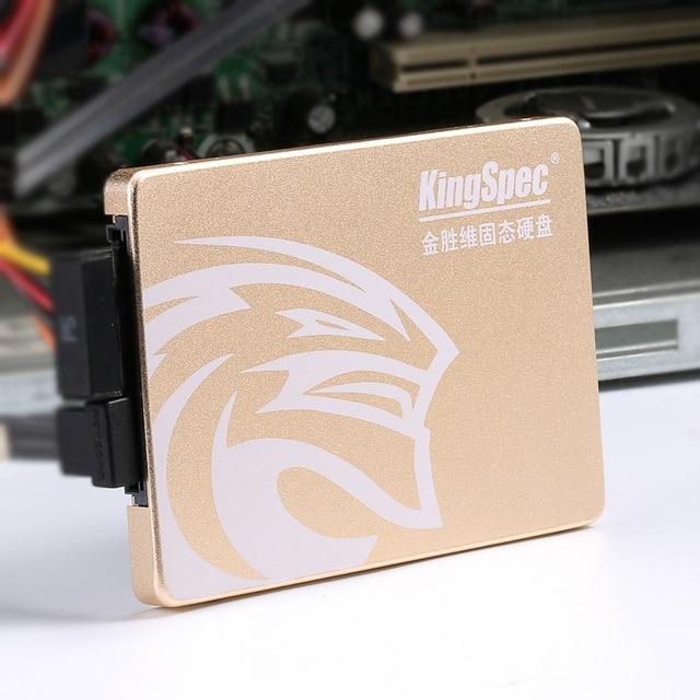 Kingspec 7mm Super mince 2.5 pouces SSD SATA III 6 GB/S SATA II SSD 128 go 256 go 512 go 1 to disque SSD ssd avec cache