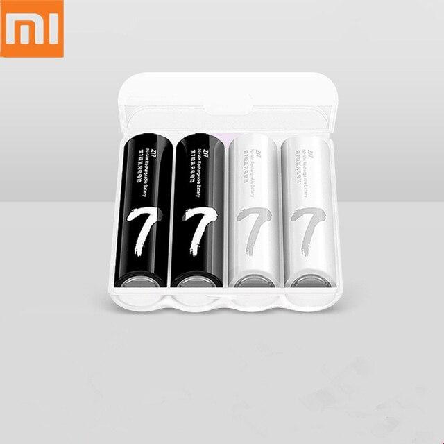 Xiaomi cargador de batería ZMI ZI5/ZI7 AA/AAA Ni MH con 4 ranuras, cargador multifunción portátil, sin salida, puerto usb, nueva versión