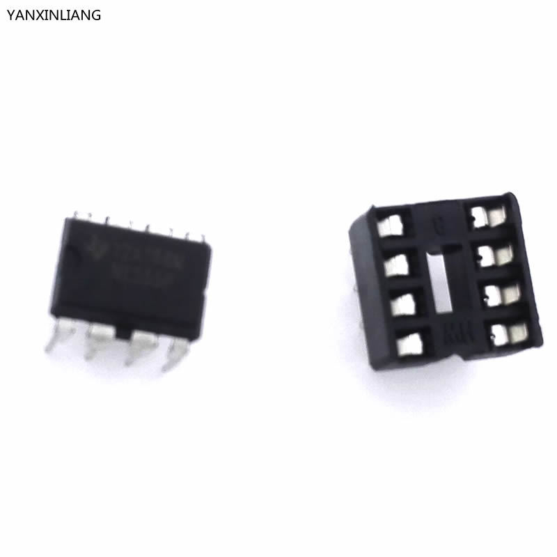 20 шт. (10 каждый) NE555 IC 555 и 8 Pin DIP Розетки