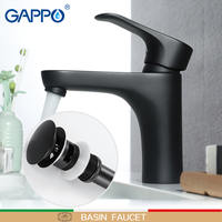 GAPPO Basin Faucet basin black mixers taps waterfall bathroom mixer shower faucets bath water Deck Mounted Faucets taps