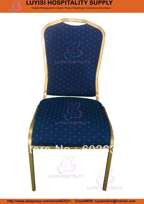 Stacking Iron Banquet chair LUYISI1011 hot sale stacking steel banquet chair luyisi1039