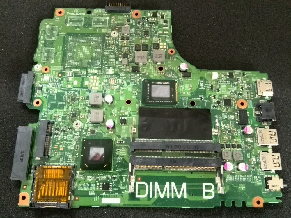 For DELL INSPIRON 2421 3421 5421 CN-0PTNPF Motherboard with 1017U cpu Free Shipping original new for dell inspiron n5110 m5110 palmrest upper case