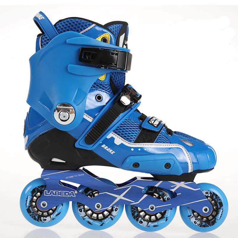 Labeda Slalom Inline Skates 4 Wheels Adult Skating Shoes With Rocking Type PU Wheels For Free Skating Sliding Good As SEBA High labeda slalom inline skates 4 wheels adult skating shoes with rocking type pu wheels for free skating sliding street skating