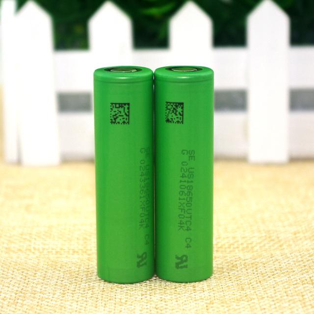 2 pcs. new original US18650 VTC4 18650 2100 mAh 3.6 V lithium battery electric vehicle charging electronic cigarettes