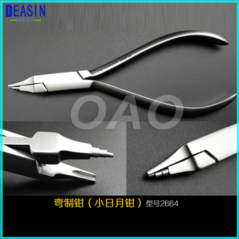 1PCS Dental Laboratory Material Dental Orthodontic Wire Step Forming Plier Instrument Plier Tool Loop Bending Forming