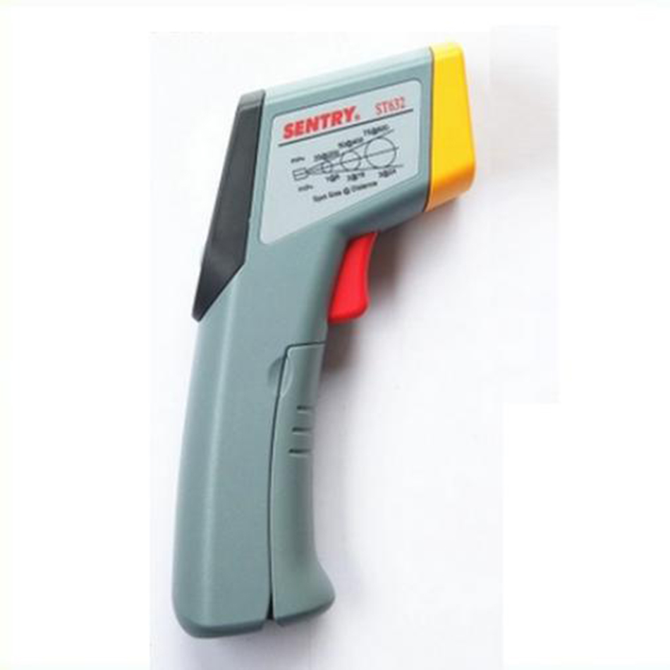 ST-632 Economic Infrared Thermometer Handheld Laser Temperature Measuring Gun Industrial Object Thermometer Sight Switchable вайткене л большая книга о науке для мальчиков