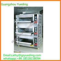Commercial Kitchen Gas Pizza Oven Bread Baking Gas Convection Oven