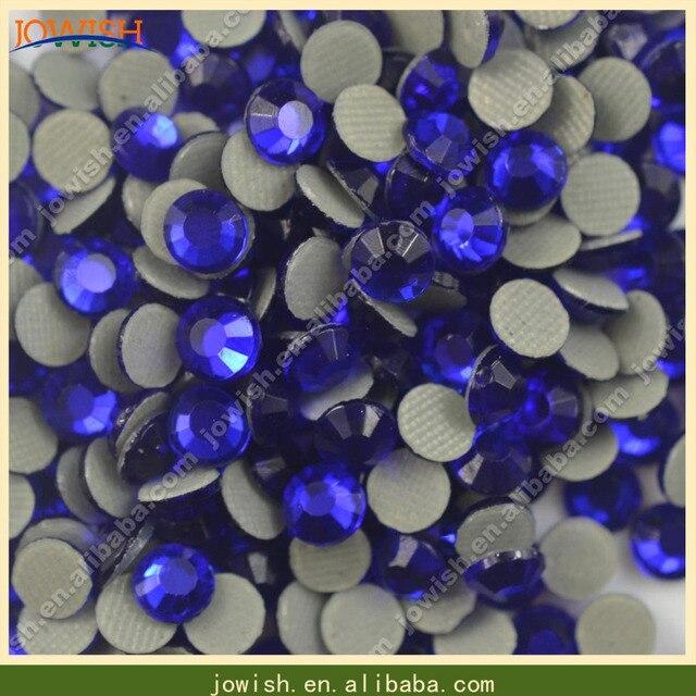 SS10 Cobalt Iron on korean rhinestone 500gross bag 01271117cca2