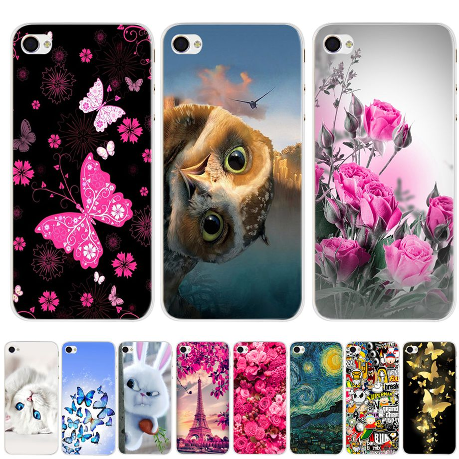 For Coque iPhone 4s Case Cute Cartoon Case for Apple iPhone 4 iPhone4 S Cover Shell Phone Case For iPhone 4s Cover Coque Bumper