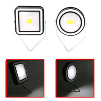 Portable Solar Lantern Circular Square 2 Modes Emergency LED Outdoor Camping Lamp Waterproof USB Rechargeable Handy