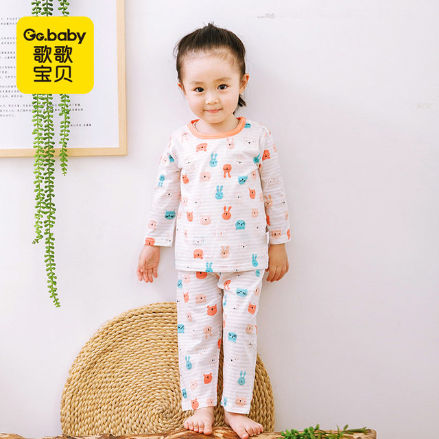 af99704754a Thin Summer Pyjamas Kids Sets Long Sleeve Pajama Set Boys Clothes Baby  Pajamas Cotton Baby Pyjamas Suits Cool Girls Pajamas Suit