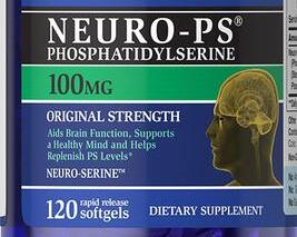 Pride Neuro-Ps (Phosphatidylserine) 100mg/120 Brain Function Supports a Healthy Mind Helps Replenish PS levels цена