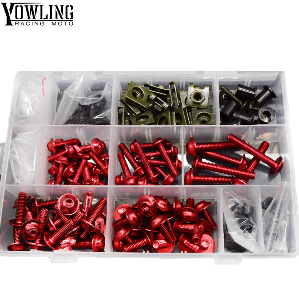 Motorcycle Accessories Fairing Windshield Body Work Bolts Nuts Screws For Aprilia TUONO R V4R Factory V4 R MANA 850 RS 125 250