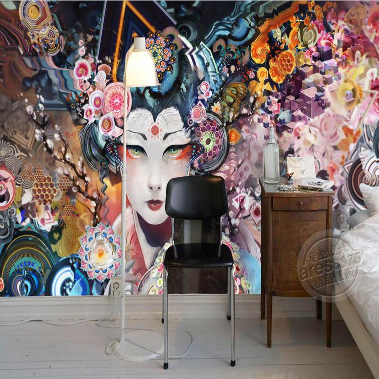 Buy personalized custom 3d wall murals for Asian wallpaper mural