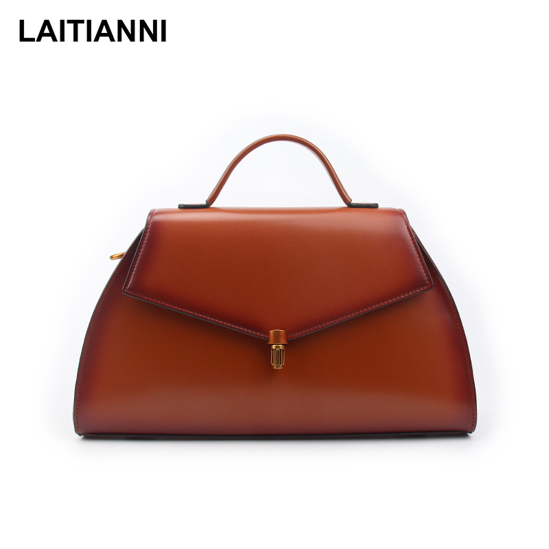 Hot Sale Fashion Tote Bags Women Original Leather Trapezoidal Messenger Bags Lady Clutch Bags Casual Female Designers Cross Body hot sale leather bags for women tote pu 2015 134 women messenger bags 134