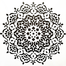 DIY Home Decor 15*15cm Mandala Stencil Template For Tile Painting Homework Decorative