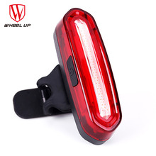 цена на WHEEL UP Bike Tail Light Bicycle Rear light Cycling Tail-lamp Led Light USB Rechargeable Polychromatic Taillight Waterproof MTB