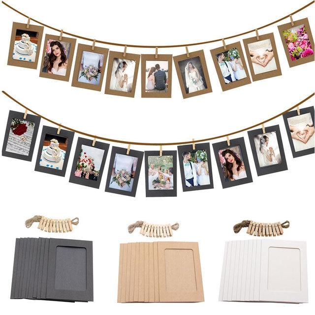 Online Shop 10Pcs DIY Paper Photo Frame Halloween Decoration Wedding ...