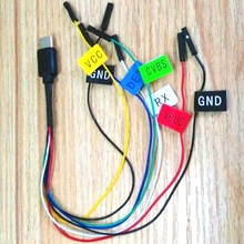 SJCAM Cable de Dron sj8/SJ9 Max strike FPV, PWM, accesorio de cámara de acción aérea