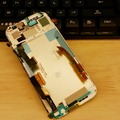 Es de doble sim para htc one m8 831c lcd screen display asamblea con marco de plata/gris/oro