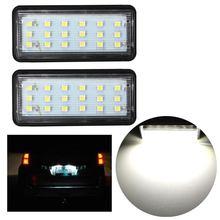 2x ошибок LED SMD3528 Номерные знаки для мотоциклов свет номерной знак лампа для Toyota/Land/Cruiser/Lexus/GX /LX470