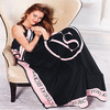 130 155CM Adult Child Single Blanket Summer Vitoria Coral Velvet Air Conditioning Blanket Bedding Article Small