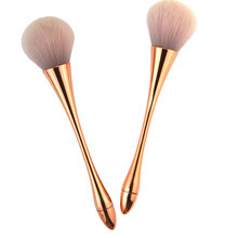 powder metal nylon make up brushes 20cm women fashion Cosmetic Tools Single brush