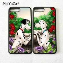 Мультяшные далматинцы пара BFF лучшие друзья любовь пара мягкие чехлы для iPhone 5S, SE 6 6s плюс 7 7 плюс 8 8 плюс X XR XS MAX