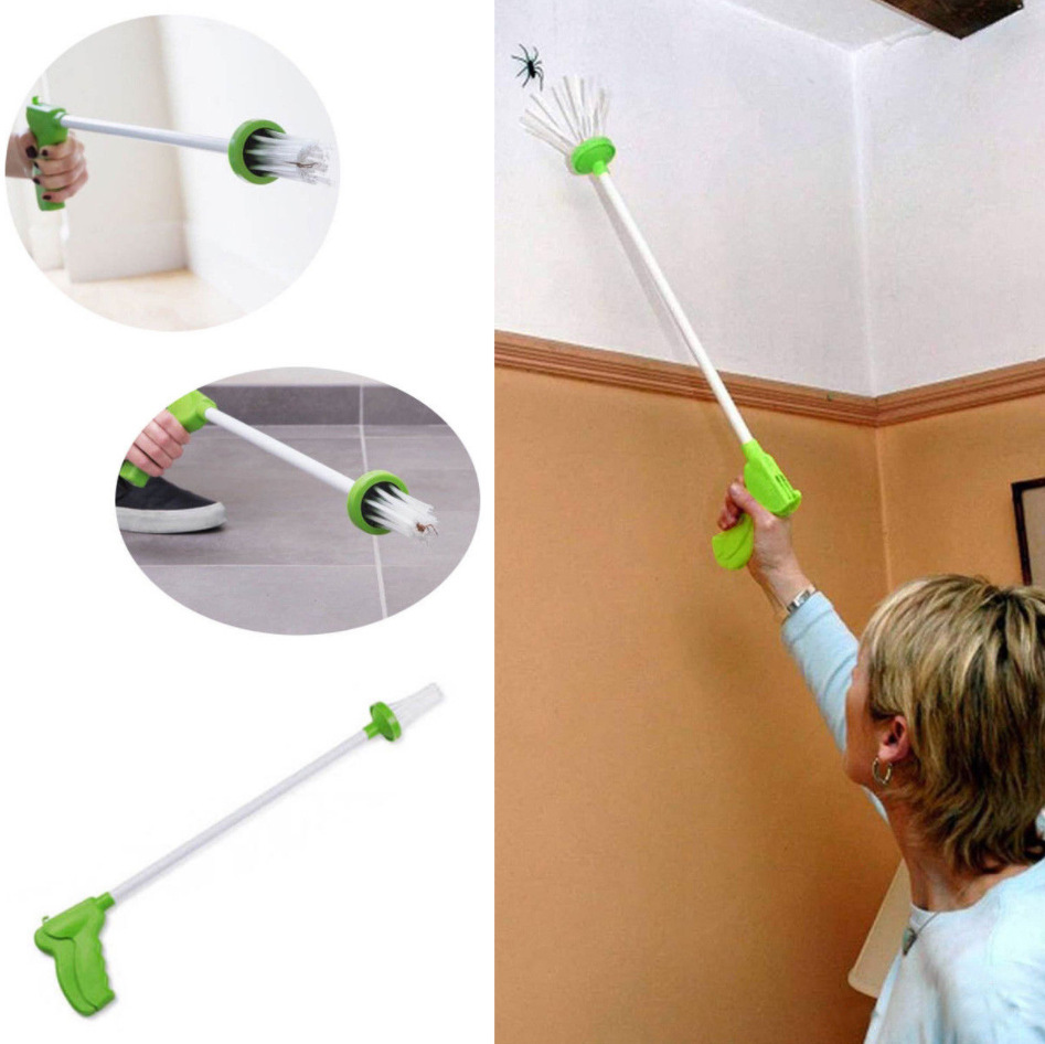 My Critter Catcher Long Handled Insect Grabber Travel Eco Friendly Catch Release Spiders and Insects in Traps from Home Garden